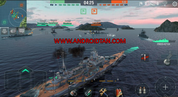 World of Warships Blitz Mod Apk for Android