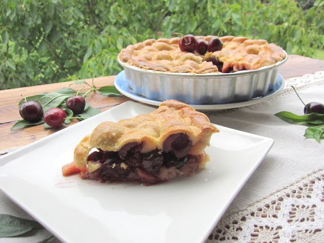 Cherry pie, tarta de cerezas