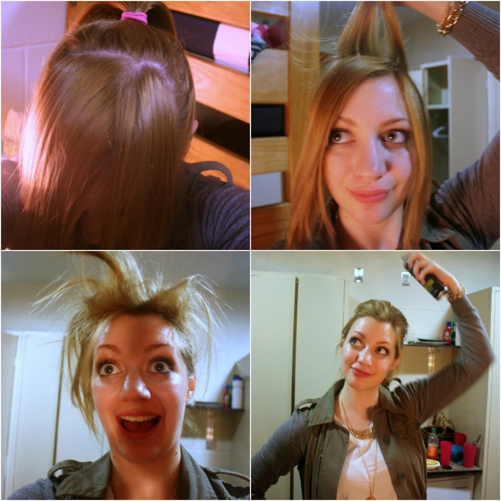 how to: rockstar ponytail