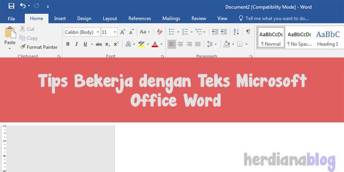 Tips-Bekerja-dengan-Teks-Microsoft