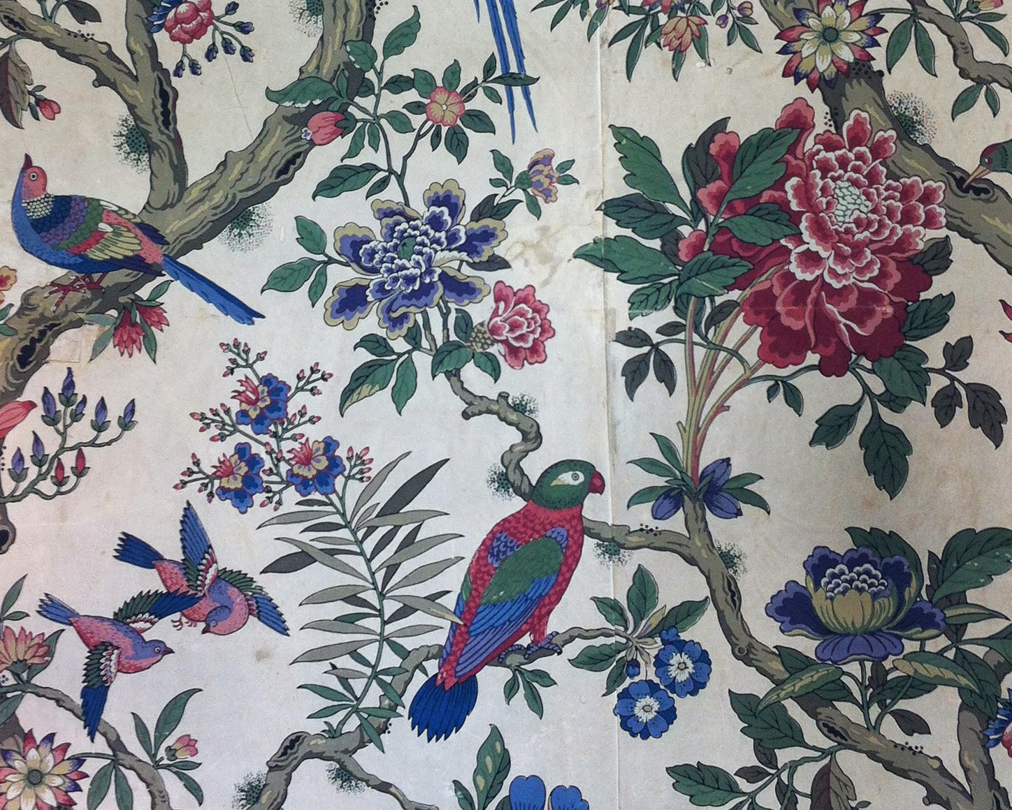 THE VIRTUAL VICTORIAN: WALLPAPER AT ENDSLEIGH HOUSE...