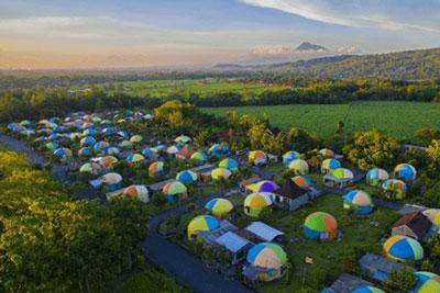6 Objek Wisata Yang Terlahir Dari Bencana Alam Terbaru Di Indonesia