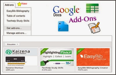 Google Docs Add-Ons - A New Feature   Cool Tools for