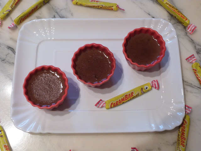 Petites crèmes au carambar