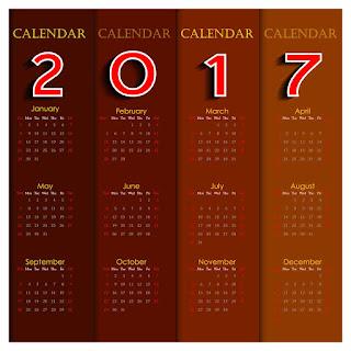 2017カレンダー無料テンプレート26