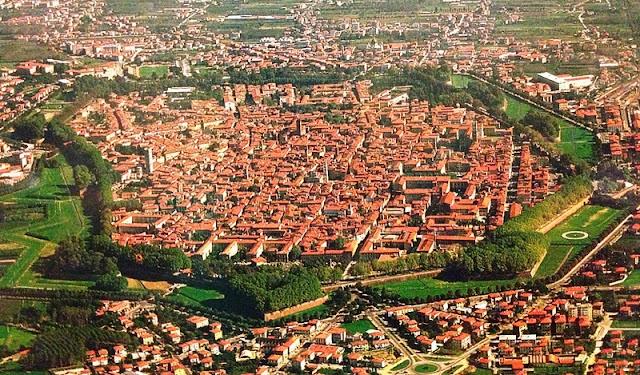 Principais pontos turísticos em Lucca