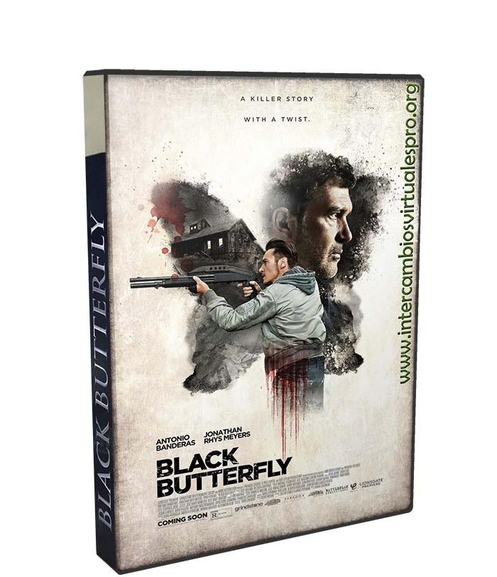 mariposa negra poster box cover