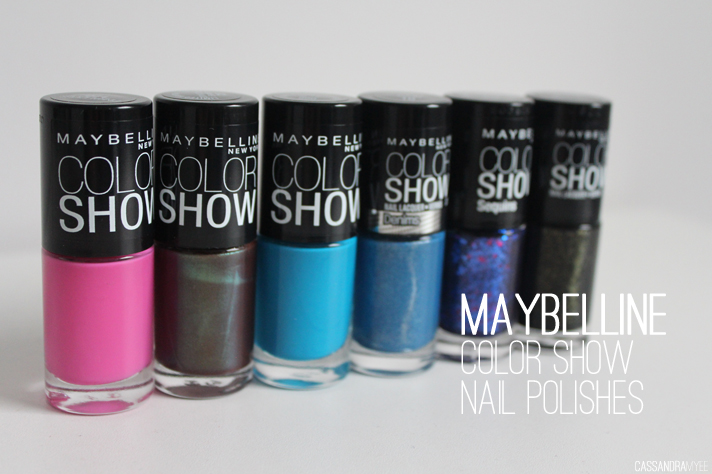 MAYBELLINE // Color Show Nail Polishes - cassandramyee