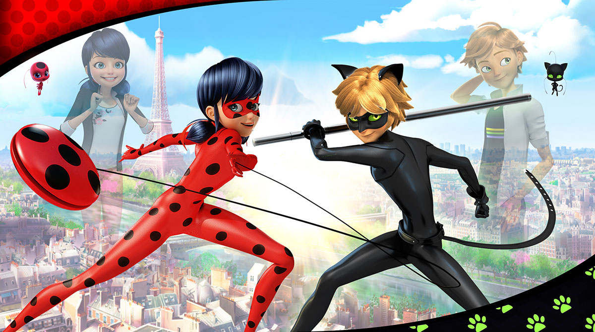 A GEEK DADDY: Miraculous Tales of Ladybug & Cat Noir