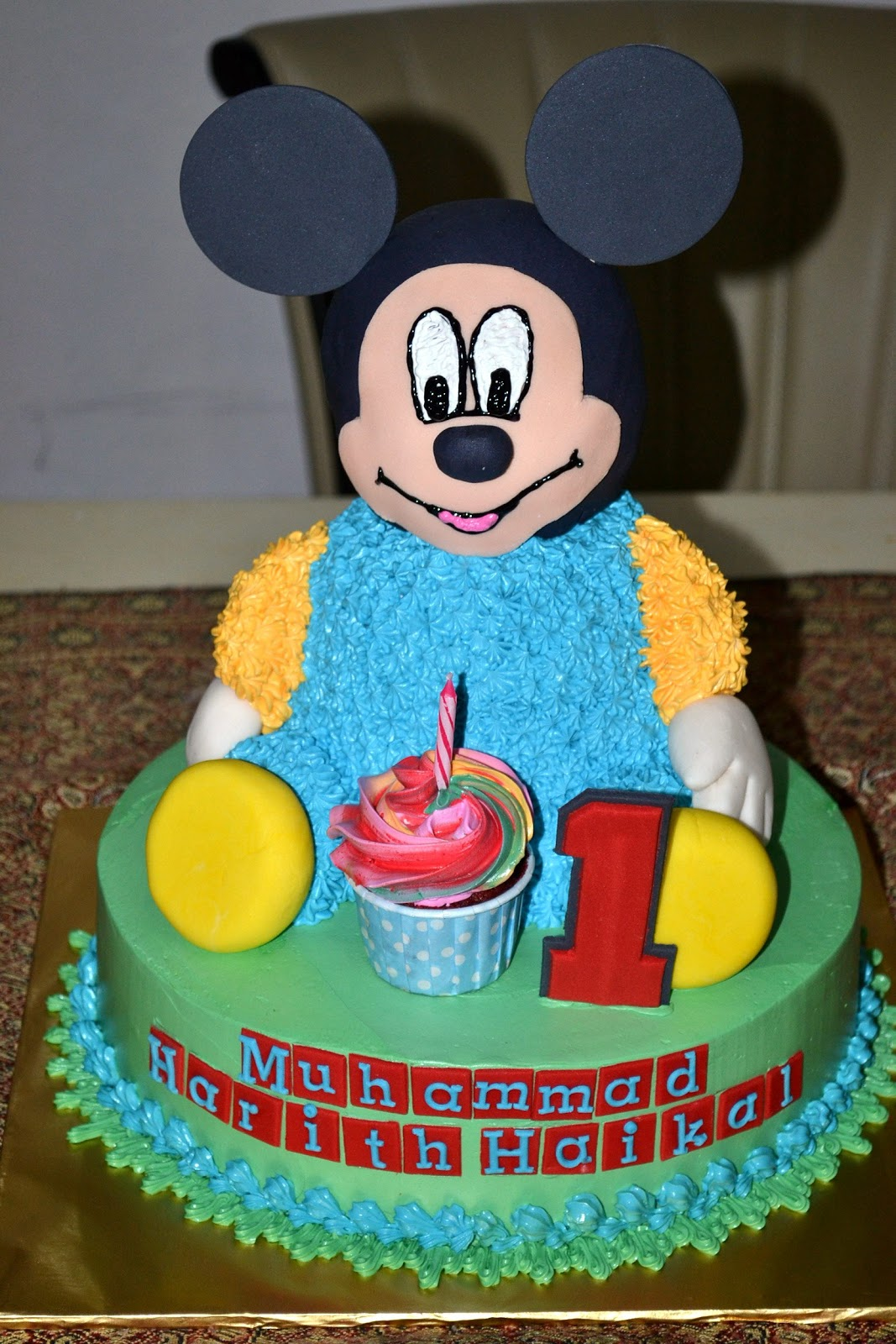 Mypu3 Cake House 3d Mickey Mouse Cake