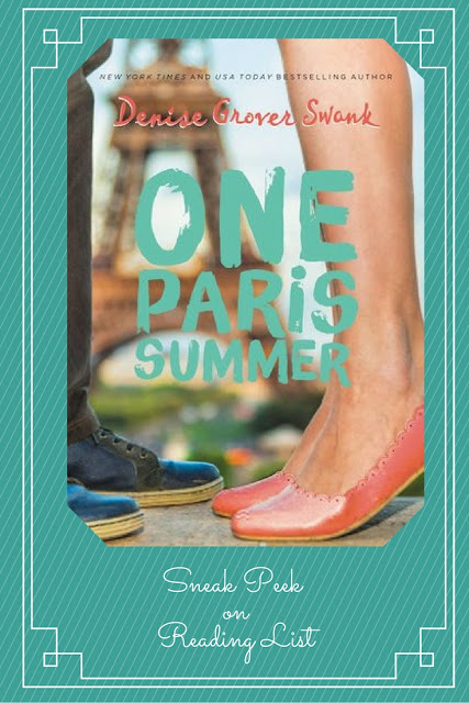 One Paris Summer  A Sneak Peek