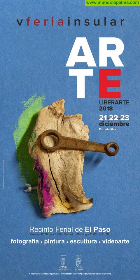 El Cabildo reúne una veintena de propuestas de arte hecho en La Palma en la Feria Insular 'Liberarte'