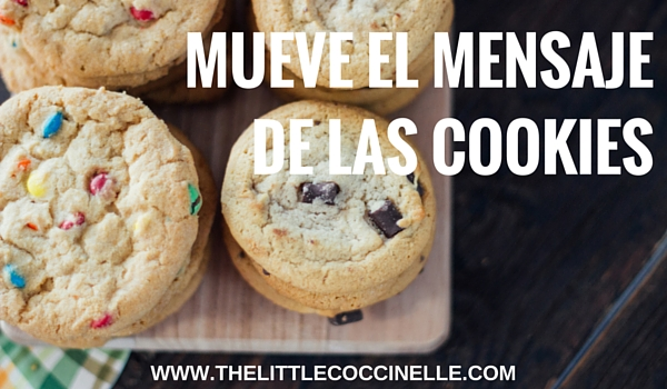 mueve mensaje galletas