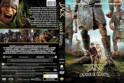 Filme Jack - O Caçador de Gigantes (Jack The Giant Slayer) DVD Capa