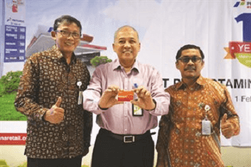 Bright Card Alat Transaksi Elektrobik di SPBU