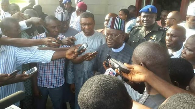 I'M NOT SERVING WIKE, I WON'T JOIN ISSUES WITH HIM – GOV ORTOM