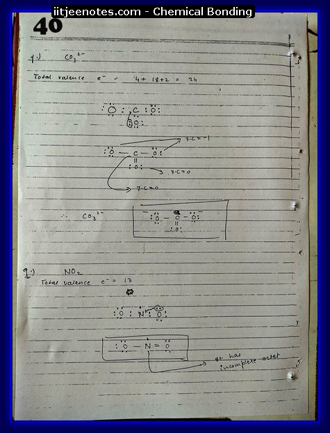 Chemical Bonding Notes IITJEE 17