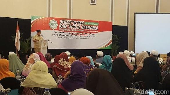 Prabowo: Umat Islam Paling Rasakan Penghancuran Ekonomi RI