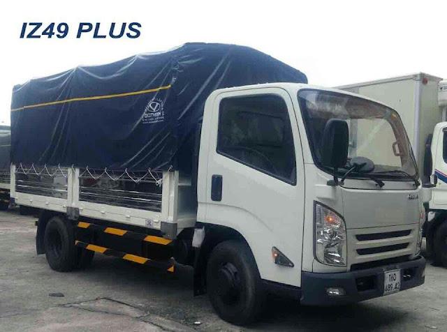 Xe tải 2.5 tấn Đô Thành IZ65 thùng bạt
