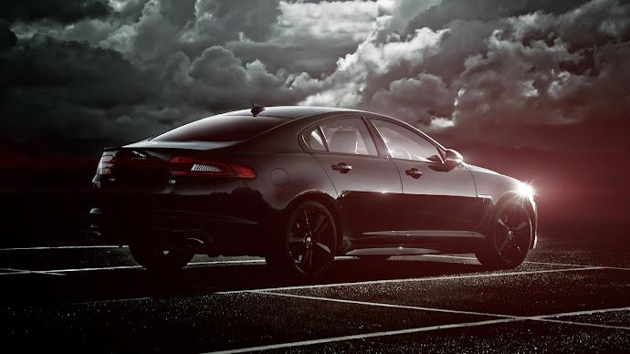 Wallpaper: Hot. Car. Luxury. Jaguar XF S