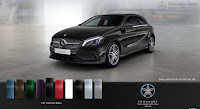 Mercedes A250 2016 màu Đen Cosmos 191
