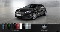 Mercedes A250 2018 màu Đen Cosmos 191