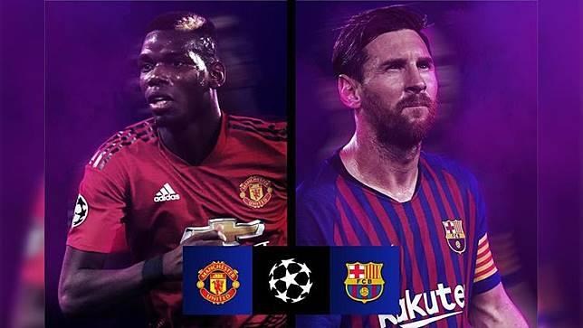 Ketemu Barcelona di Liga Champions, Netizen Sindir Man United Lewat Meme Kocak