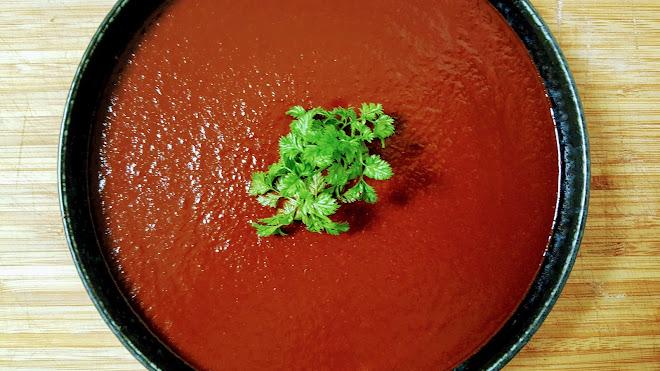 Salsa rouge pour enchiladas