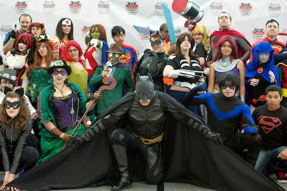 DC Comic Book Characters at Denver Comic Con, 2014