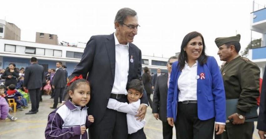Presidente Vizcarra destaca papel de maestros en la formación de buenos ciudadanos