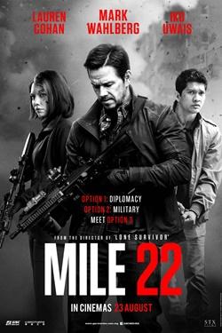 Mile 22 2018 Eng HDRip 480p 300Mb ESub x264