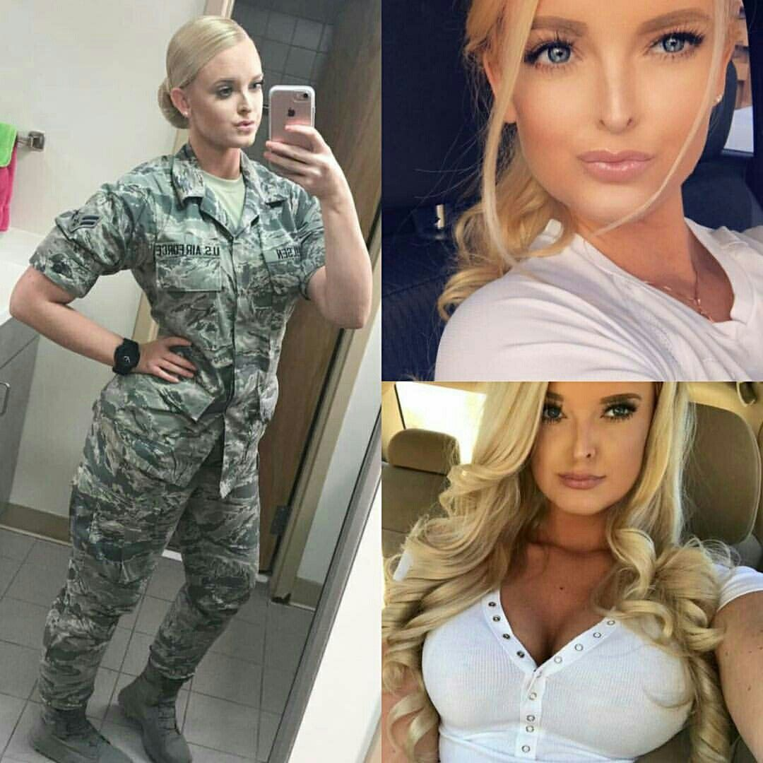 50 Beautiful Army Women With & Without Uniform Looking ...