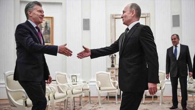 Argentina desafía a EEUU y avanza en relaciones con Rusia y China