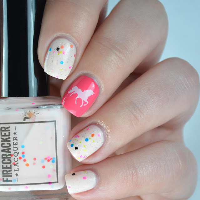 unicorn nail art
