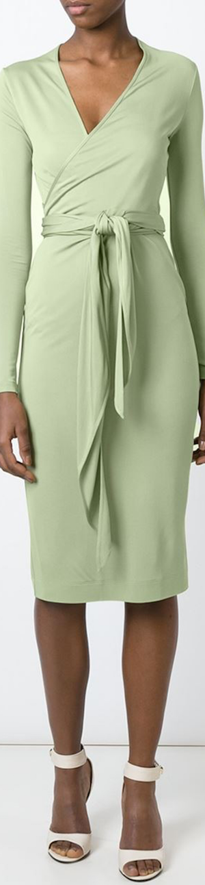 Givenchy Belted Wrap Dress