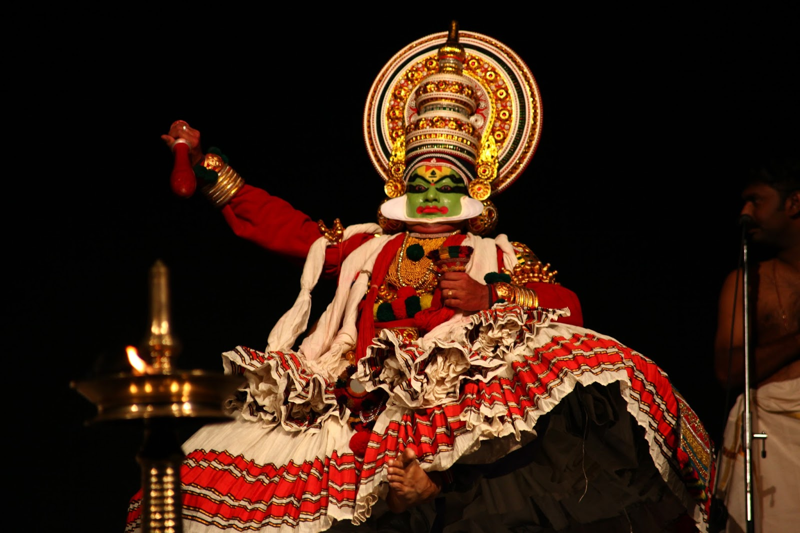 Trip to Kochi to see the Kathakali Dance