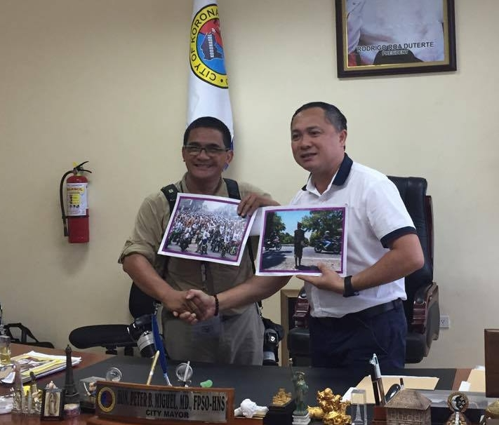 Photographer from Davao City big winner in Koronadal Motorcycle Festival photo contest