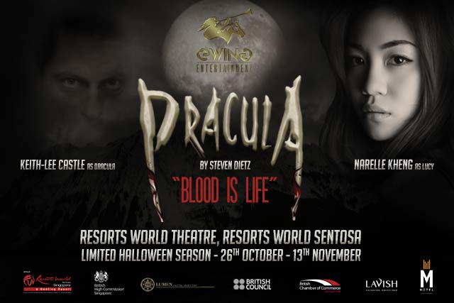 Dracula Blood is Life at Resorts World Sentosa
