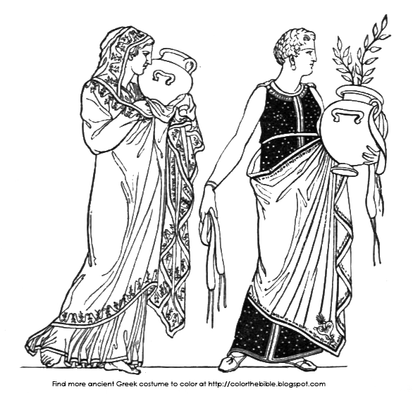 ancient greece free coloring pages - photo#20