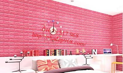 xốp dán tường 3D Thái Nguyên
