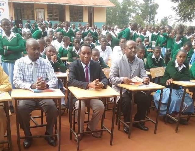 Shule ya sekondari Mugoma wilayani Ngara yapata vifaa vya milioni 5
