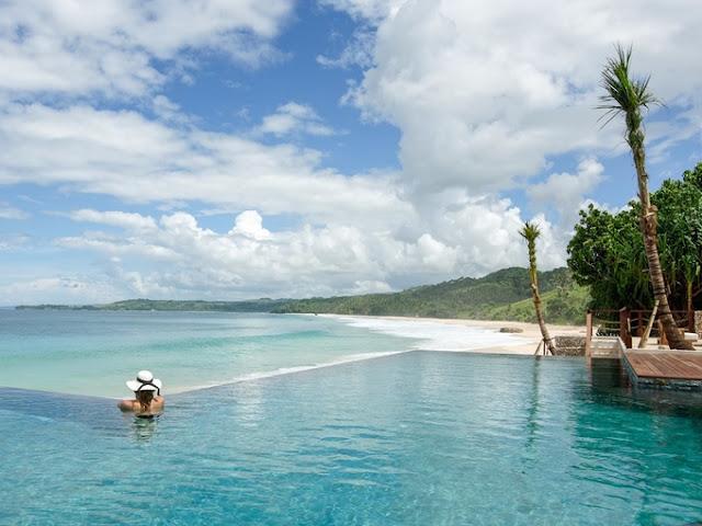 resort với hồ bơi vô cực tuyệt đẹp