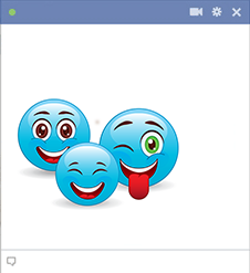 Happy smileys group