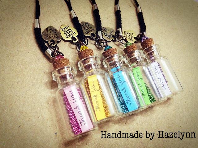Wedding Guest Thank You Gift Ideas: Handmade By Hazelynn: Gift Idea: Thank You Bottle