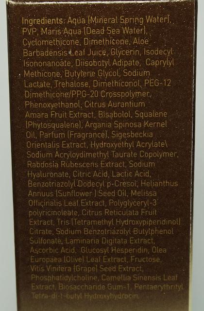 AHAVA - Dead Sea Osmoter™ Concentrate (Gesichtsserum mit Mineralien aus dem Toten Meer)