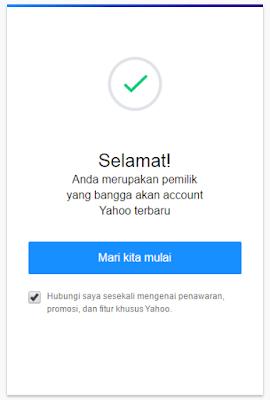 Cara Membuat Email Yahoo Baru (Daftar Email Yahoo)