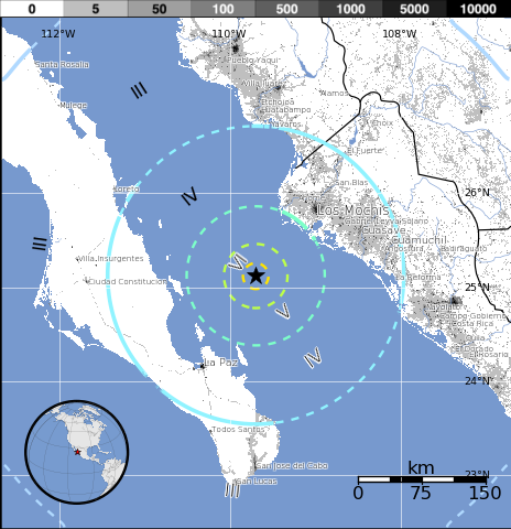 Gulf Of California Map.Sciency Thoughts Earthquake In The Gulf Of California