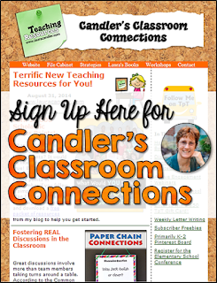 Sign up for Candler's Classroom Connections to gain access to a page with DOZENS of Laura Candler's best freebies!
