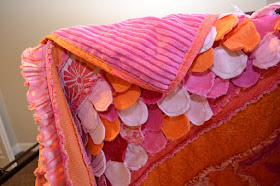 Quilting and Binding Sew Girly Rag Quilt Pattern by A Vision to Remember