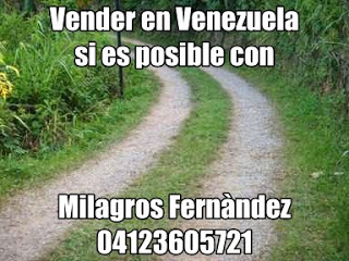 Milagros Fernández Gerencia de Negocios    Asesor de Inversión-Inmobiliario Certificado  Telf. 0212.4223247 - 04123605721 - 04165756318   twitter: https://twitter.com/mfdineros instagram:https://www.instagram.com/mfdinero/ Facebook: https://www.facebook.com/mfdinero Google+: Apartamentoscasasterrenosoficinas  Teléfono: + 58 0212.4223247/ 04123605721 / 0416 5 756318  Direccion: Junquito Luis Hurtado, Av. Venezuela Quinta La Montaña  Busca el BIEN PARA TODOS   Mi Mansión sera la casa del señor por largo, largo tiempo -  Salmo 23